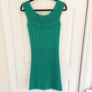 MODA Green Knit Dress